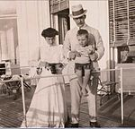 Grand Duke Andrei Vladimirovich, Mathilde Kschessinska and their son in France.jpg