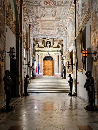 Grandmaster's Palace (Valletta) - Corridor in the Grandmaster's Palace