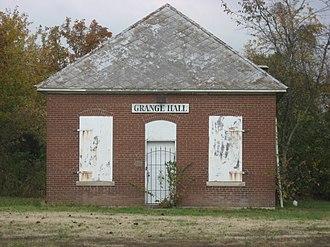 Somerset Township, Jackson County, Illinois - The township's historic grange hall