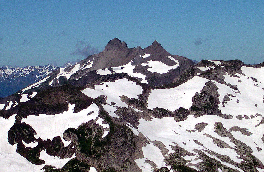 Graušpic (2599 m) - najviši vrh Lihtenštajna