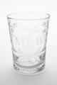 """Graverat glas med initialerna """"MEB"""" som betyder """"Magnus Eriksson Brahe"""". Från 1800 cirka - Skoklosters slott - 93499.tif"""