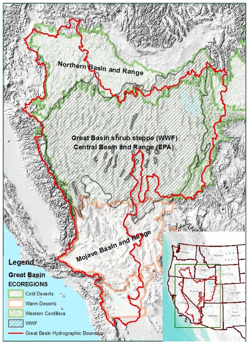 Great Basin Ecoregions