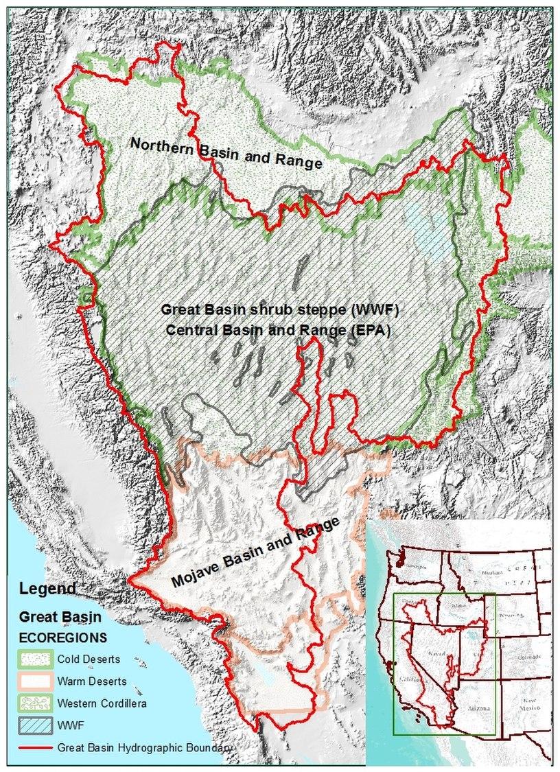 Great Basin Ecoregions
