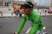 De Britse sprinter Mark Cavendish won het puntenklassement in 2011.