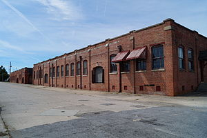 Greenville Tobacco Warehouse Historic District - Greenville Tobacco Warehouse Historic District, September 2014