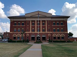 Greer County, Oklahoma - Image: Greer County Courthouse