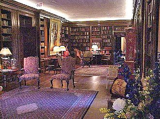 Grey Towers National Historic Site - The estate's library today, expanded under the direction of Cornelia Pinchot