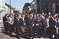 Group of men, Corpus Christi procession, Cahir, Co. Tipperary (21890973583).jpg