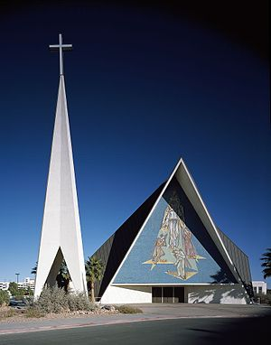 Roman Catholic Diocese of Las Vegas - Guardian Angel Cathedral in Las Vegas.