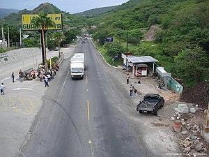 El Progreso Department - The entrance to Guastatoya