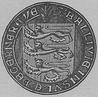 Law of Guernsey - Guernsey seal arms of Bailiwick