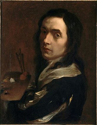 Guillaume Courtois - Presumed self-portrait