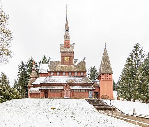 Gustav-Adolf-Stabkirche in Hahnenklee bei Goslar (2019)