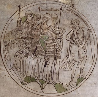 Guthlac of Crowland - Image: Guthlac Contemplation BL