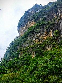 Hòa An District District in Northeast, Vietnam