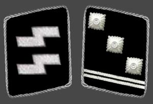 Obersturmführer - Image: HH SS Obersturmfuhrer Collar