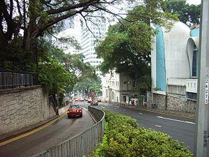 Upper Albert Road - Image: HK Garden Road fm Upper Albert Rd