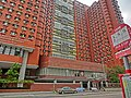 HK Hung Hom Hung Lai Road 紅磡 紅荔道 KMBus 5C 11K 11X 21 stop sign view HKPolyU Halls of Residence Mar-2013.JPG