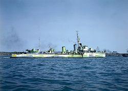 HMCS Restigouche (H00) CT-284