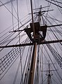 HMS Gannet rigging at Chatham Historic Dockyard - geograph.org.uk - 150073.jpg