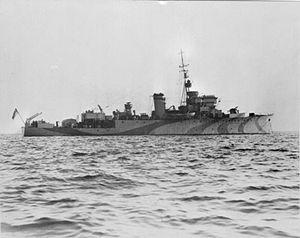 HMS Hound (J307) - Image: HMS Hound WWII IWM A 15138