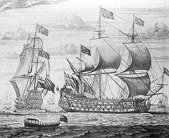 HMS Prince (1670) - Image: HMS Prince (1670)
