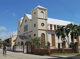 History of the Catholic Church in Belize