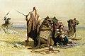 Haag Carl Danger in the Desert 1867 Watercolour on Paper.jpg