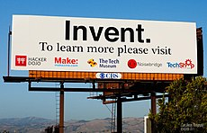 Billboard in Silicon Valley