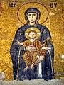 Hagia Sofia mosaic Virgin and Child.JPG