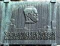 Hahnentorburg Köln - Gedenktafel Josef Stübben.jpg