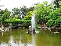 Hakusan park, Niigata, Japan.JPG