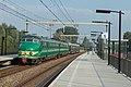 Halfweg NSM Mat '54 386 + Mat '46 273 rit 28 227 naar Haarlem (15120154667).jpg