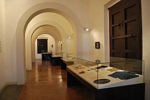 Encarnación de Díaz - Hall inside the Cristero Museum