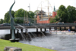 Halmstad Place in Halland, Sweden