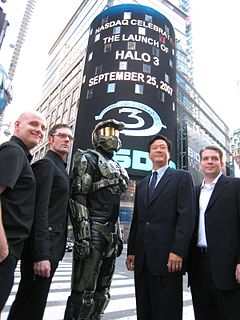 Marketing of <i>Halo 3</i> Marketing campaign for the video game