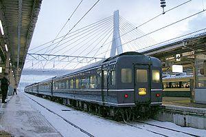 Hamanasu (train) - Image: Hamanasu coach
