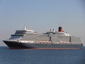 MS Queen Elizabeth - Queen Elizabeth in Tallinn, 2012