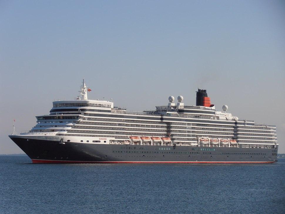 Hamilton Bermuda%27 Queen Elizabeth arriving Port of Tallinn 10 June 2012