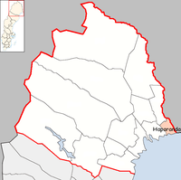 Haparanda Municipality in Norrbotten County.png