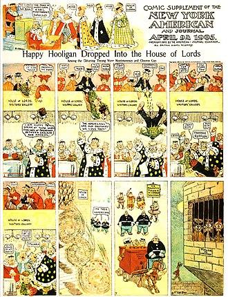 Happy Hooligan - Frederick Opper's Happy Hooligan (April 9, 1905)