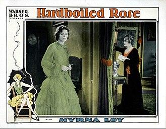 Hardboiled Rose - Lobby card