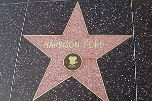 Harrison Ford's Star on Hollywood Blvd