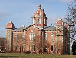City Hall, originally the Dakota County Courthouse