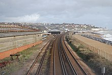 Hastings to Bexhill seafront railway - geograph.org.uk - 1579662.jpg
