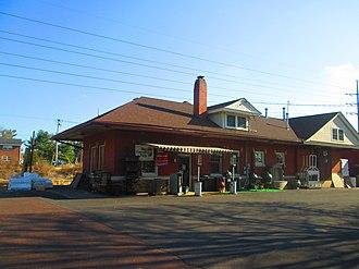 Hatfield, Pennsylvania - Former Reading station