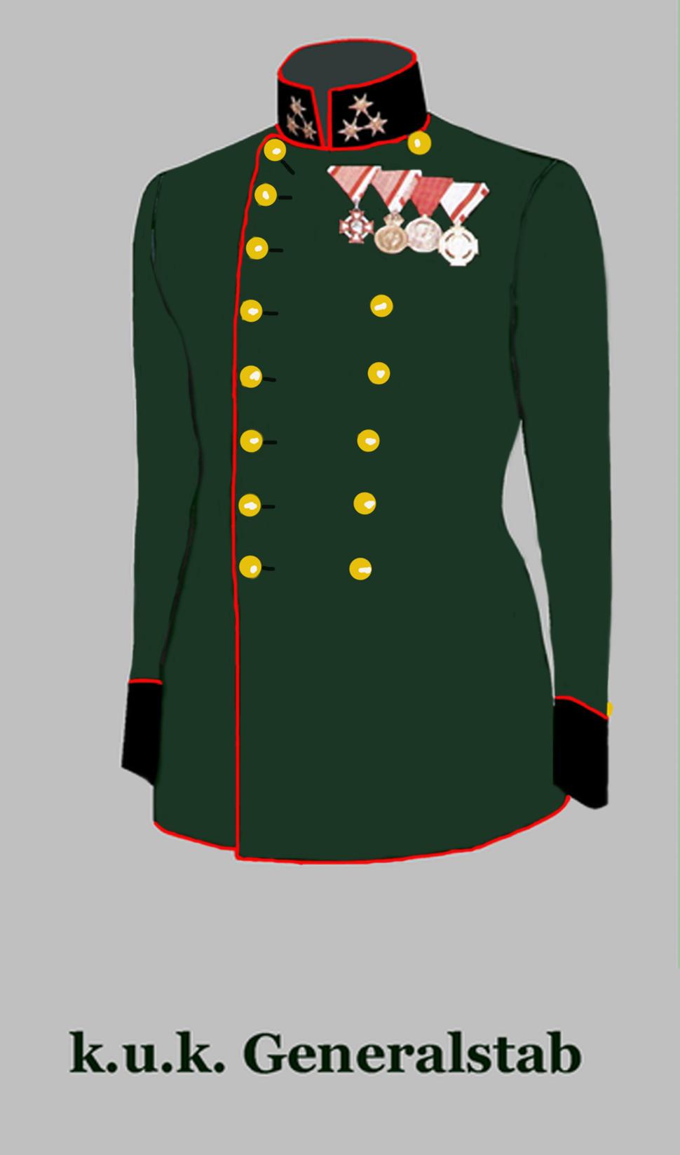 Hauptmann im k.u.k. Generalstab