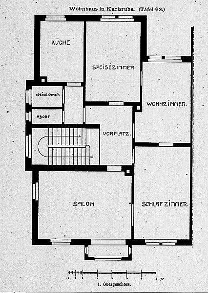 datei haus in karlsruhe hirschstr 95 architekt billing. Black Bedroom Furniture Sets. Home Design Ideas