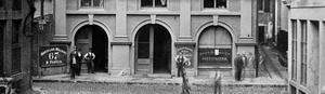 Hawley Street (Boston) - Image: Hawley St ca 1870 Boston Bostonian Society