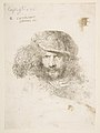 Head of a Man with a feathered Cap (Bernini?) MET DP816507.jpg